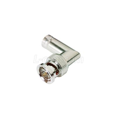 Right angle Male / Female BNC Connector
